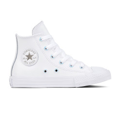 CONVERSE, Chuck taylor all star hi, White/metallic gunmetal/white