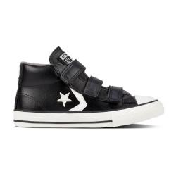 CONVERSE, Star player 3v mid, Black/mason/vintage white