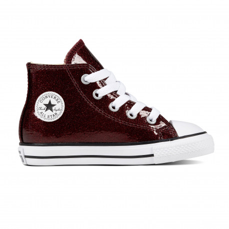 Chuck taylor all star hi - Dark burgundy/natural/white