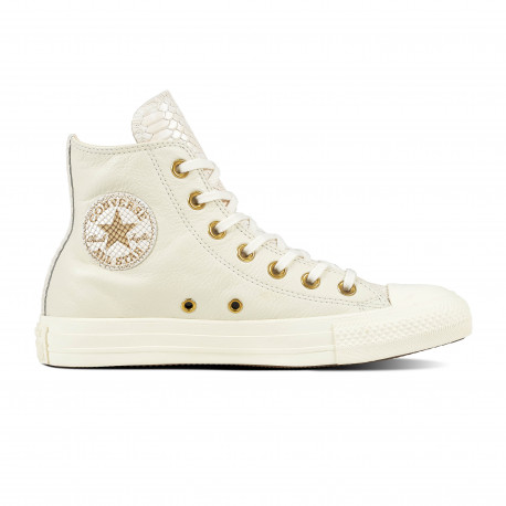 Chuck taylor all star hi - Egret/light twine/egret
