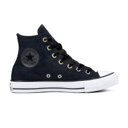 CONVERSE, Chuck taylor all star hi, Black/black/white