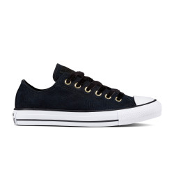 CONVERSE, Chuck taylor all star ox, Black/black/white