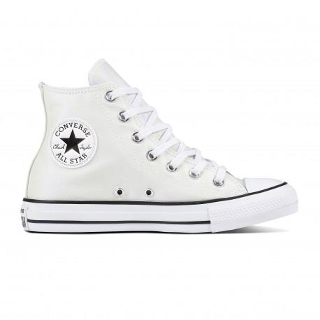 Chuck taylor all star hi - White/white/black