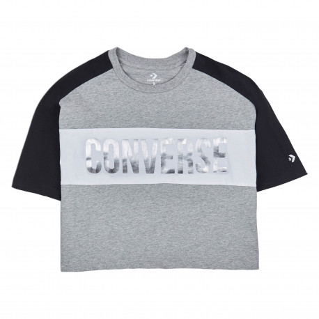 Lurex relaxed tee - Converse black multi