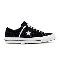 CONVERSE, One star ox, Black/white/white