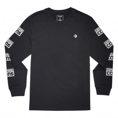 Cons logo long sleeve tee - Black