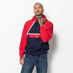 FILA, Men astor batwing jacket, Peacoat-red