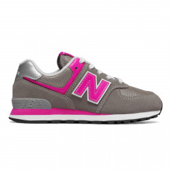 NEW BALANCE, Gc574 m, Grey/pink