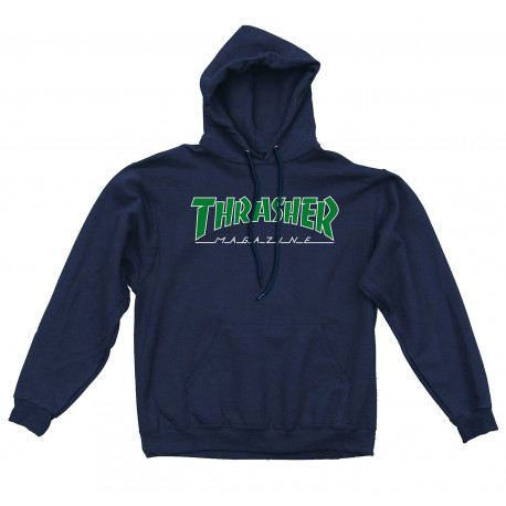Sweat outlined hood - Navy