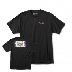 PRIMITIVE, T-shirt r & m ii rick hypno eyes, Black