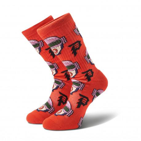 Socks r & m ii dirty p gwen crew - Red