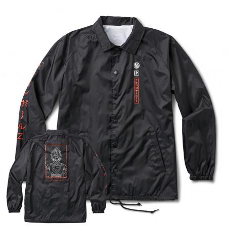 Jacket dbz goku saiyan style coach - Black