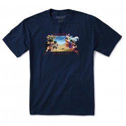 PRIMITIVE, T-shirt dbz battle, Navy