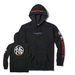 PRIMITIVE, Sweat dbz dragonball club hood, Black