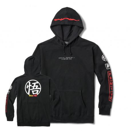 Sweat dbz dragonball club hood - Black