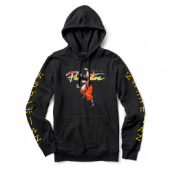 PRIMITIVE, Sweat dbz nuevo goku hood, Black