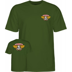 POWELL PERALTA, T-shirt winged ripper, Military green