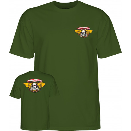 T-shirt winged ripper - Military green