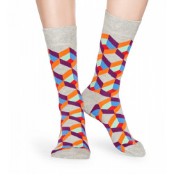 HAPPY SOCKS, Optic squre sock, 9500
