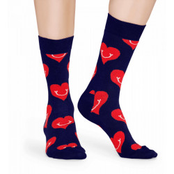 HAPPY SOCKS, Smiley heart sock, 6500