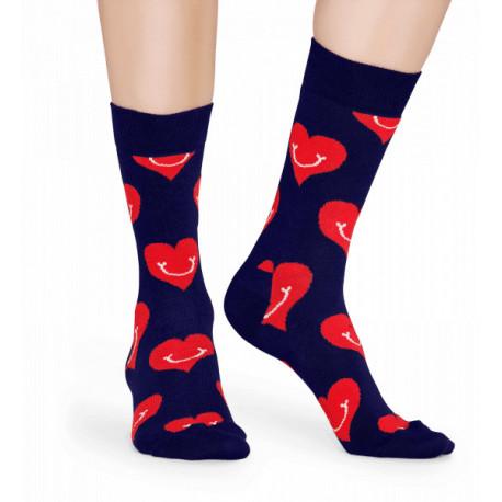 Smiley heart sock - 6500