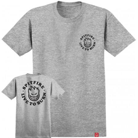 T-shirt ss bighead ltb - Athletic heather black