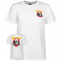 POWELL PERALTA, T-shirt ripper, White