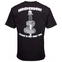 INDEPENDENT, Fools don't tee, Black