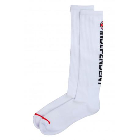 Directional sock - White