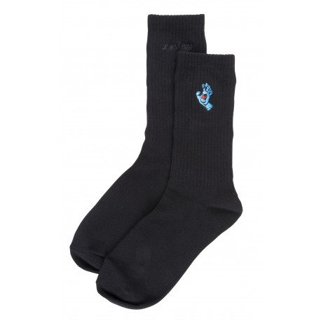 Screaming mini hand sock - Black