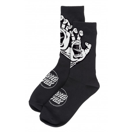 Screaming hand mono sock - Black