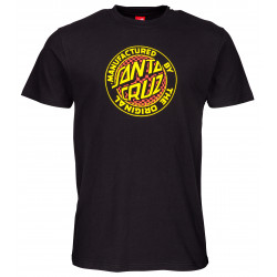 SANTA CRUZ, Fisheye mfg tee, Black