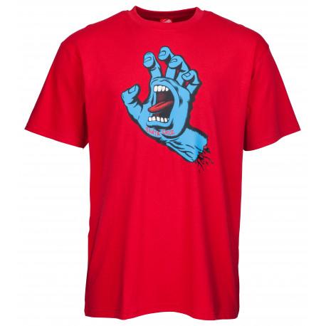 Screaming hand tee - Deep red