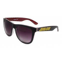 SANTA CRUZ, Fish eye sunglasses, Black/check