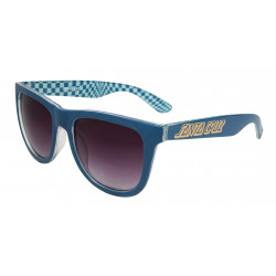 SANTA CRUZ, Fish eye sunglasses, Ink blue/check