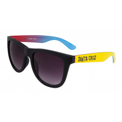 SANTA CRUZ, Fade hand sunglasses, Black/yellow