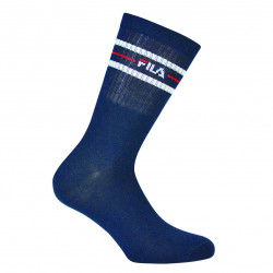 FILA, Normal socks manfila3 pairs per pack, Navy