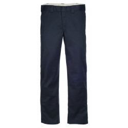 DICKIES, S/stght work pant, Rinsed black