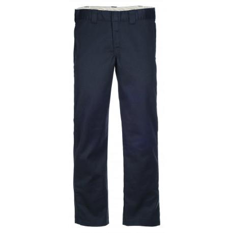 S/stght work pant - Rinsed black