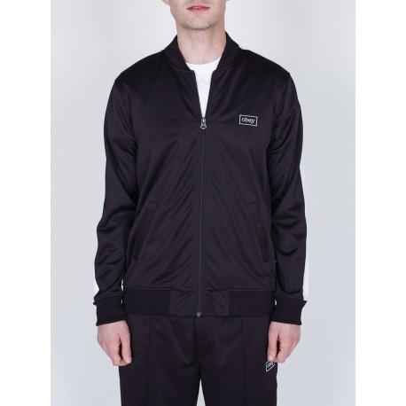 Borstal track jacket - Black
