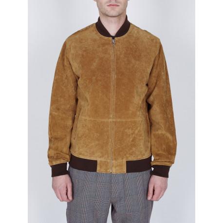 Clifton leopard jacket - Tapenade