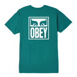 OBEY, Obey eyes icon, Teal