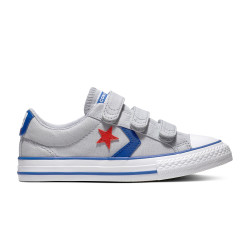 CONVERSE, Star player 3v ox, Wolf grey/blue/enamel red
