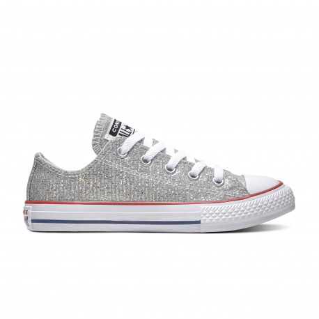Chuck taylor all star sparkle ox - Mouse/enamel red/white