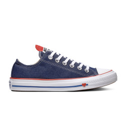 CONVERSE, Chuck taylor all star denim love ox, Indigo/enamel red/white