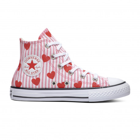 Chuck taylor all star hi - Pink/red/white