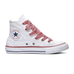 CONVERSE, Chuck taylor all star hi, White/garnet/midnight navy