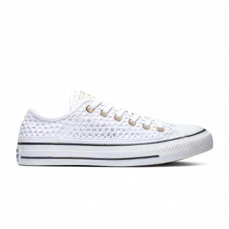 Chuck taylor all star ox - White/black/white
