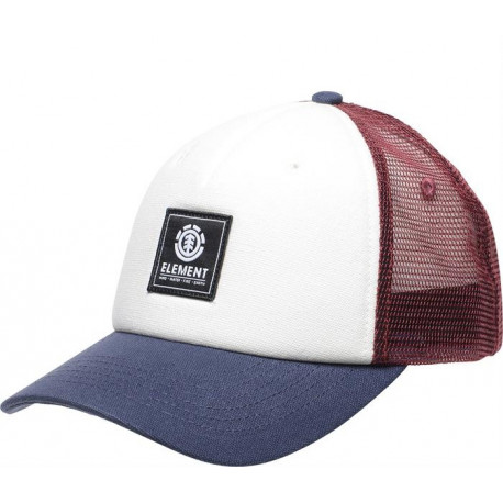 Icon mesh cap - Oxblood red