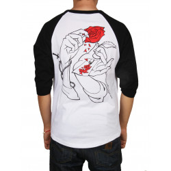 JACKER, Holy roses, White/black